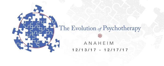 Konferenz Evolution of Psychotherapy in Anaheim, USA